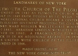 LPC Commemorates New York's Historic Role in Abolition