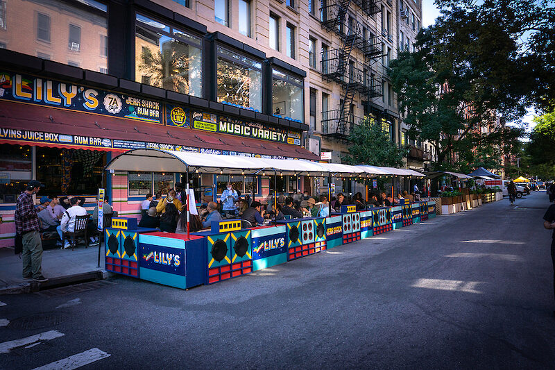Outdoor Dining to Continue Year-Round in NYC